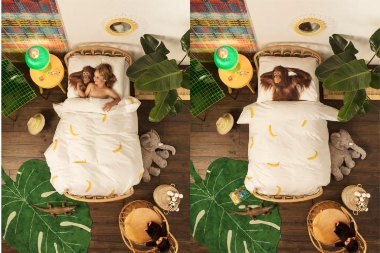 Banana Monkey dekbedovertrek sfeerimpressie