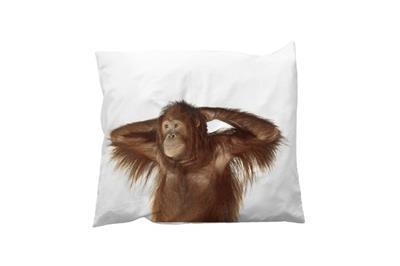 Banana Monkey kussensloop