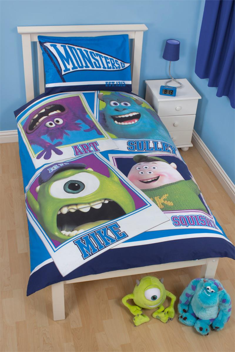 Monsters Inc. Dekbedovertrek