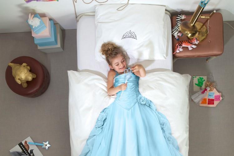 Princess Blue dekbedovertrek in gebruik