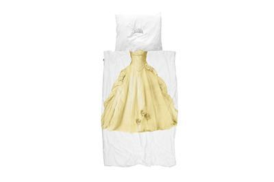 Princess Yellow dekbedovertrek