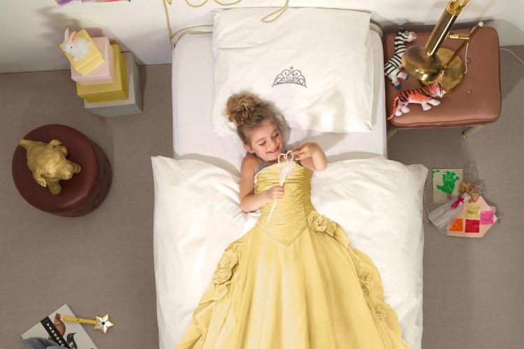 Princess Yellow dekbedovertrek in gebruik