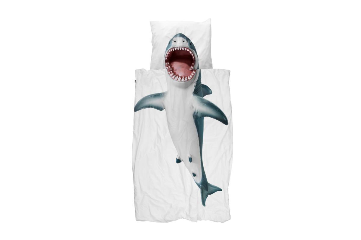 Shark! dekbedovertrek