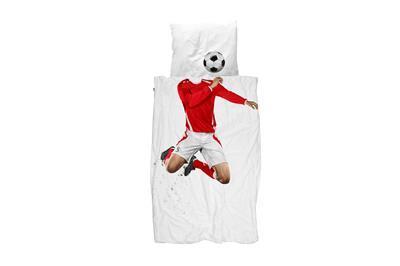 Soccer Champ Red dekbedovertrek