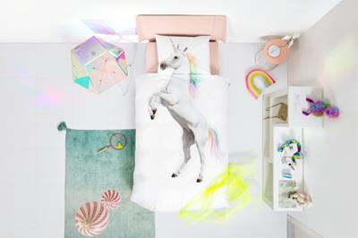 Unicorn dekbedovertrek sfeerimpressie