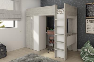 Studio hoogslaper cascina-wit