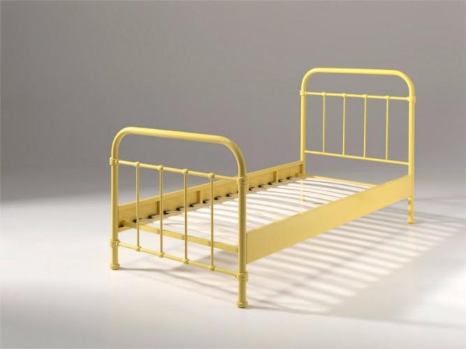 New york metalen kinderbed 90 200 geel - Modern kinderbed ...