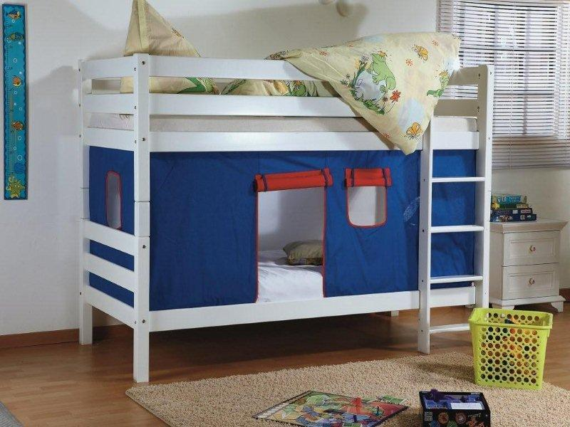 Benny Stapelbed rood/blauw