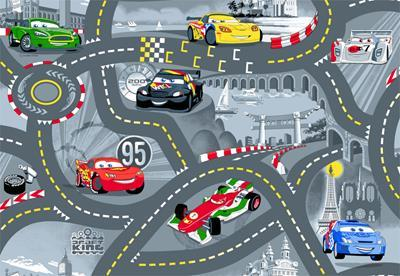 Disney CARS World of Cars II tapijt