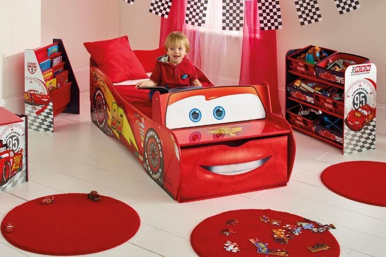Disney CARS McQueen Autobed sfeerimpressie