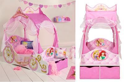 Disney Princess Koetsbed collage