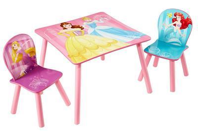 Disney Princess Tafel en stoeltjes