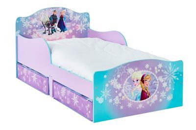 Frozen Bed met lades