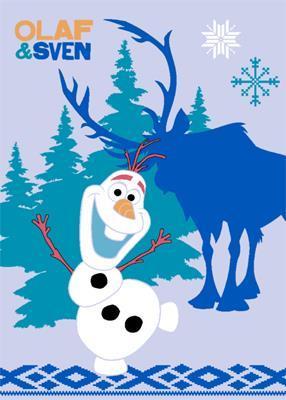 Frozen Olaf&Sven tapijt