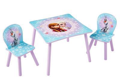 Frozen Tafel met stoeltjes