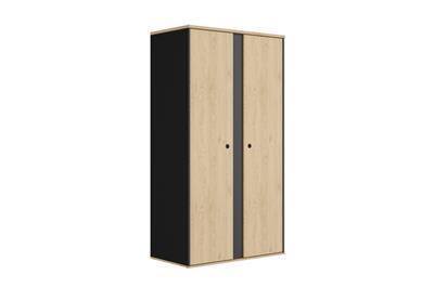 Duplex 2-deurs kledingkast
