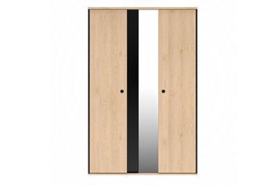 Duplex 3-deurskast vooraanzicht