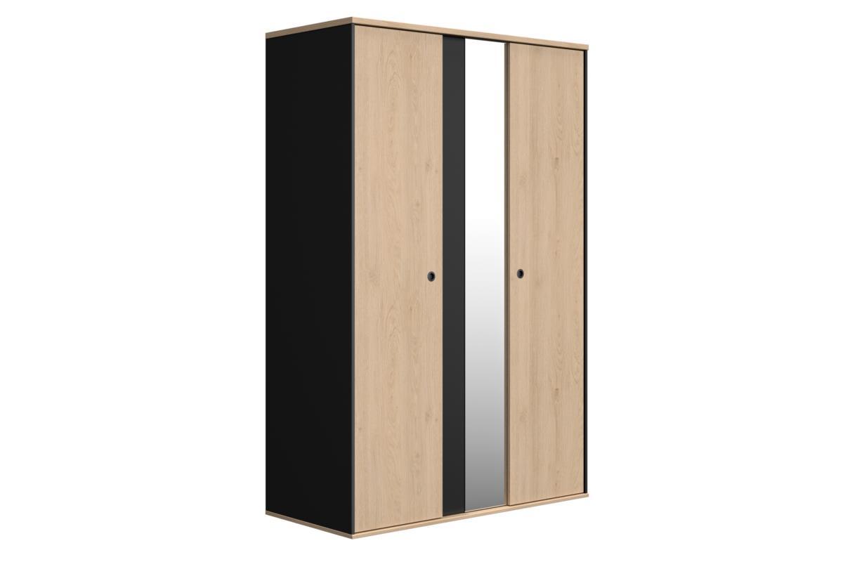 Duplex 2-deurskast met spiegel