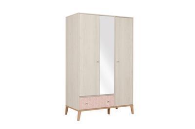 Alika 3-deurs kledingkast