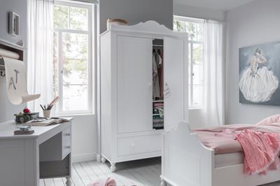 Claudia 2-deurs kledingkast