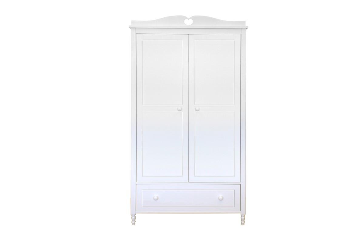 Emma 2-deurs kledingkast vooraanzicht