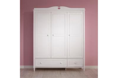 Emma 3-deurs kledingkast