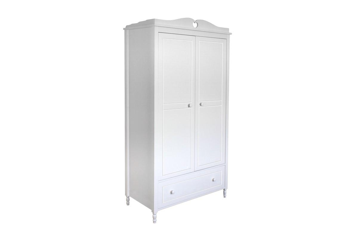 Emma 2-deurs kledingkast