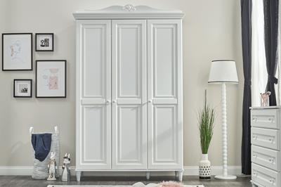 Lora 3-deurs kledingkast