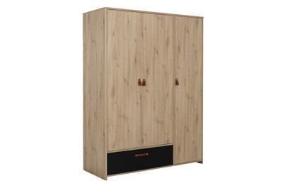 Arthus 3-deurs kledingkast