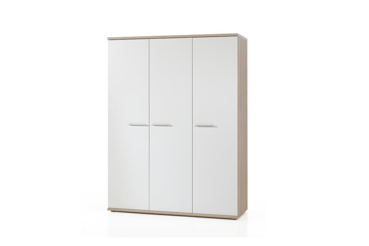 Delia 3-deurs kledingkast
