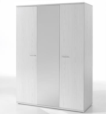 Helga 3-deurskast wit