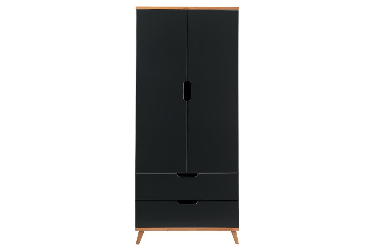 Infans Color 2-deurs kledingkast antraciet