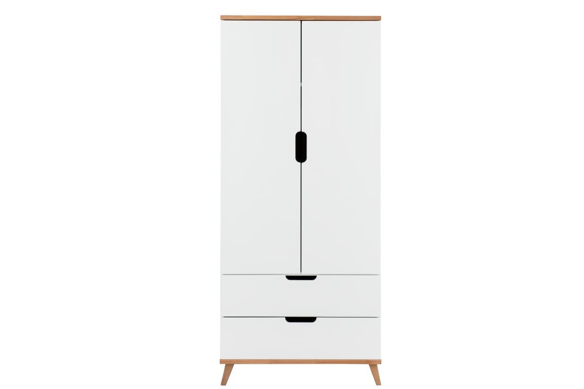 Infans Color 2-deurs kledingkast wit