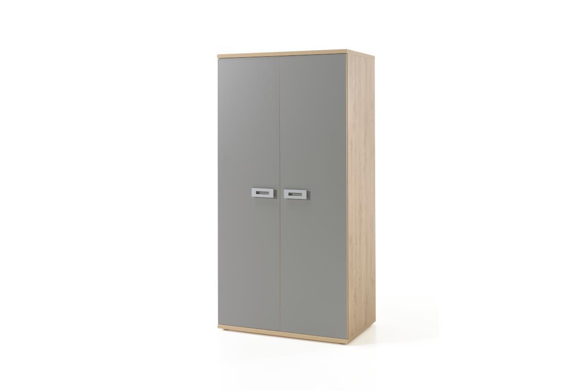 Jules 2-deurs kledingkast