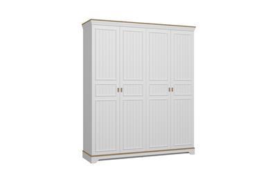 Monte 4-deurs kledingkast