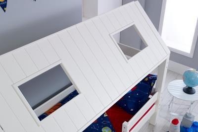 Nova hutbed laag buitenkant dak
