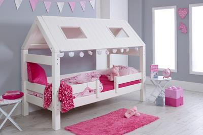 Nova hutbed laag roze aangekleed