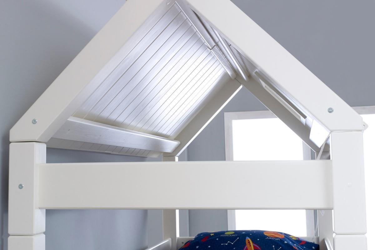 Nova hutstapelbed laag binnenkant dak