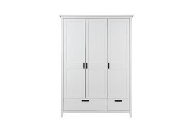 Solvita 3-deurs kledingkast