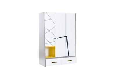 Vector Yellow 3-deurs kledingkast