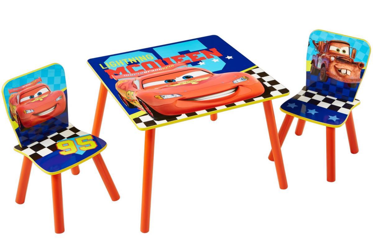 Disney CARS Tafel en stoeltjes