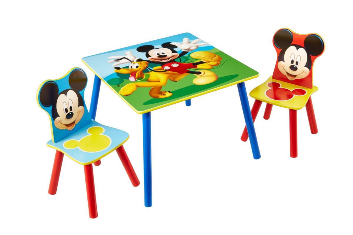Disney Mickey Mouse tafel en stoeltjes