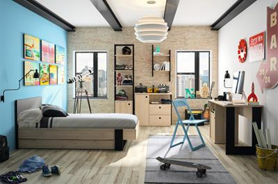 Nieuw op onze site: Duplex Jeugdkamer - Kinderkamer - Jongenskamer