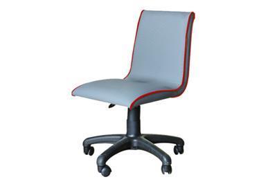 Smart bureaustoel grijss/rood